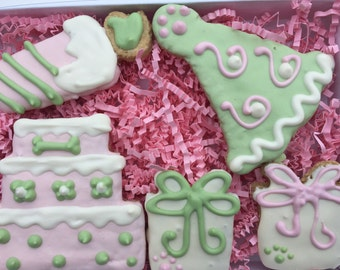 Dog Treats//Birthday Girl Homemade Gourmet Peanut Butter Treats for Dogs