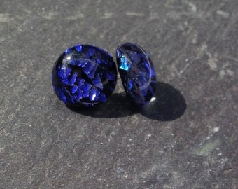 Earrings, Gifts for Her, Sister Gift, Mum Gift, Sparkly Blue, Ladies Jewellery,