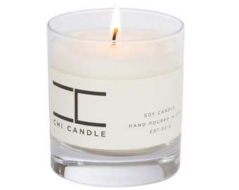 Soy Candle White Zinfandel Wine Scented Soy Candle Wine Candle