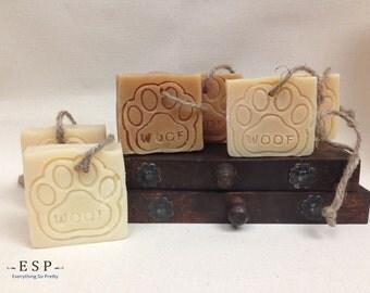 Natural Doggie Dog Soap Bar, Dog Shampoo Bar, Flea Bar