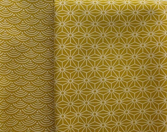 Two Half Yard Cuts of Japanese Fabric