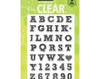 Hero Arts Clear Stamps Sketchbook Letters