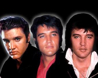 Elvis Presley - Elvis 50's 60's 70's Print