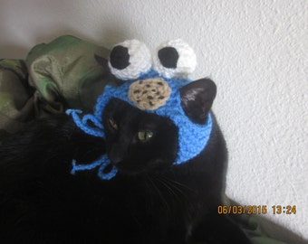 Furry Cookie Crazy Monster Kitty Hat