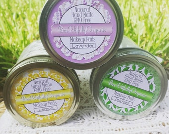 Makeup Remover - Pads - Natural Makeup Remover - Skin Care - Organic Skin Care - Organic Makeup - Makeup Remover Pads - Face Scrubbies