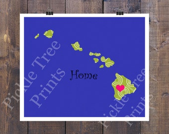 Hawaii Blue - Home