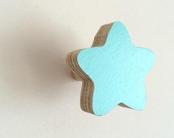 Wall Hook Star Minty