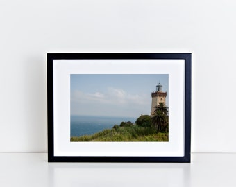 Cap Sartel Lighthouse // tangier morocco, africa, cap spartel lighthouse  nautical, seascape, travel photography