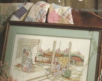 Vintage Leisure Arts FRIENDSHIP QUILTS by Paula Vaughan..Book # 31 leaflet