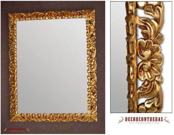 Large Gold Frame Mirror: Items Similar To Rectangular Large Wall Mirror Frame