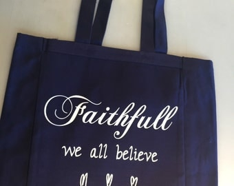 Faithfull Canvas Tote  Copy