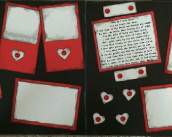 How Do I Love Thee 2 page kit