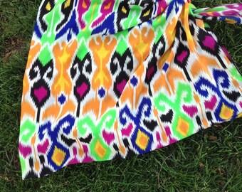 Ikat sarong+ scarf