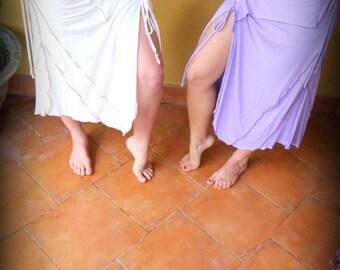 Lycra Slit Layer Skirt
