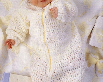 Knit & Crochet Pattern Book - 4 Projects with Multiple Patterns - Sweaters Hats Cocoon ++ Baby Toddler - Kenyon Books Not a Pdf