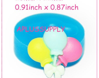 PYL219 Party Balloons Silicone Flexible Mold 23mm - Polymer Clay Bakeware Biscuit Molds, Fimo Mold Candy Mould Food Safe