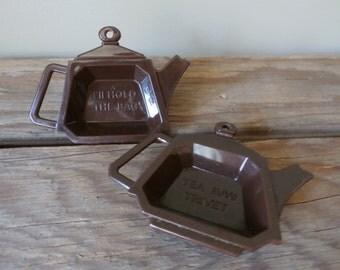 Vintage Tea Bag Trivets