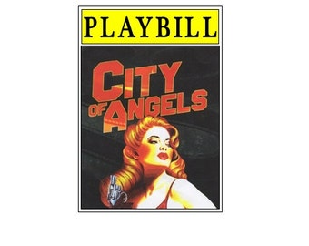 Theater / Show Charm - Playbill Play Bill - City of Angels