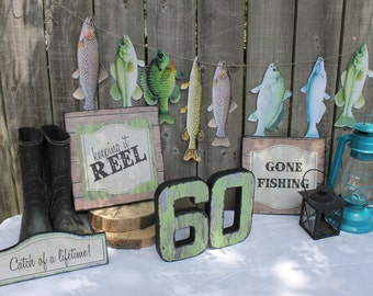 fishing themed party decorations