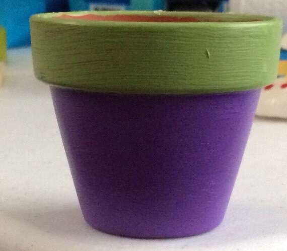 12 Mini Flower Pot Favors