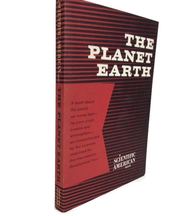 Science book The Planet Earth by Scientific American gifts under 10