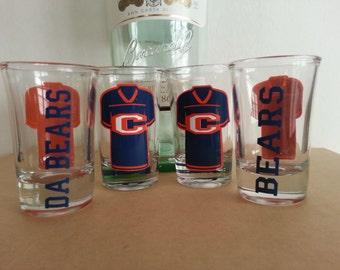 Chicago Bears Shot Glasses