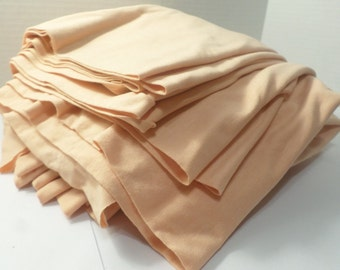 "Peach Color Stretch Fabric 30' x 3' 6"""