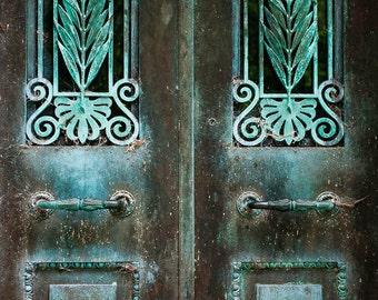 Bonaventure photography, Bonaventure Cemetery, Savannah photography, Georgia, Turquoise door, door photography, cemetery photography, 4x6