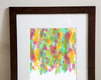 Love Always Wins Abstract Downloadable 8x10 print