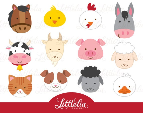 clipart pictures farm animals - photo #36