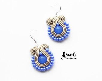 The charming earrings soutache- orecchini soutache, Boucles d'oreilles soutache- GOOD PRICE!