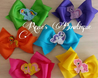 My Little Pony 6 pack Hairbows