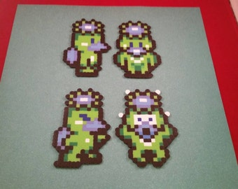 Final Fantasy VI/Final Fantasy III (US) perler bead sprite Imp choose from 1 of 4 stances or get all 4, plain or magnet