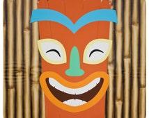 Luau Tiki Background; Luau Tiki Background; Luau Tiki decor; Luau Tiki Party; Luau Tiki Birthday Party Decor