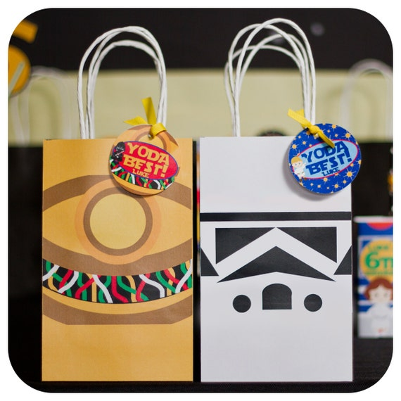 Star Wars Star Wars Party Star Wars Gift Bags Star Wars