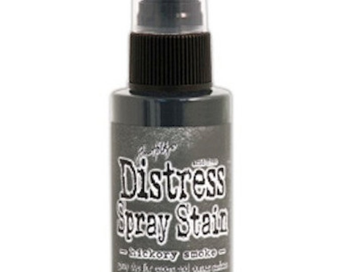 Tim Holtz Distress Spray Stain - Hickory Smoke - June 2015