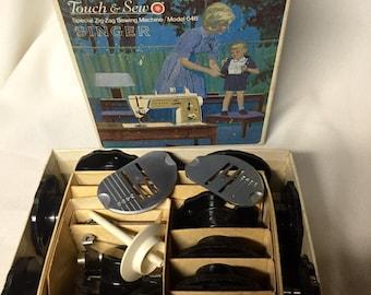 Vintage Sewing Machine Accessories - 1960s - Singer Model 648