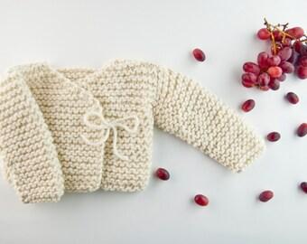 Oz Cardigan knitting kit