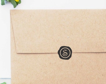 Wedding Stamps- Wax Seal Stamp- Initial Stamp, Monogram Stamp, Wedding Invitation Stamp, Custom Stamps - 10146