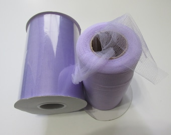 Lavender Tulle Fabric 100 Yards