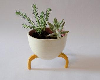 Ceramic handmade planter