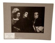 Rudolf Lesch Fine Arts Photo Print Italian Painting The Concert by Giorgione & Titian Renaissance