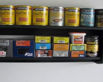 "Storage shelf for garage or workshop  35"""