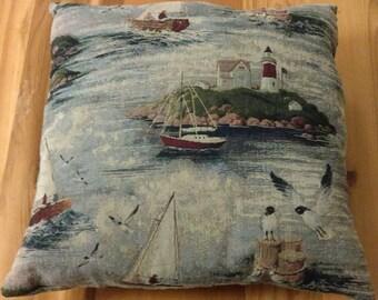 Nautical Pillow 16 x 16