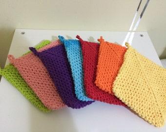 Crochet thick cotton pot holders