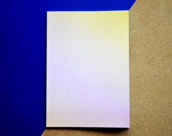 Notebook A - PASTEL limited edition