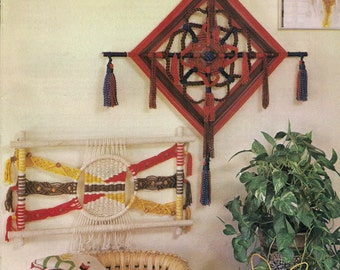 Craft Book: #MM177 Macrame Ala Carte - Patterns & Instructions