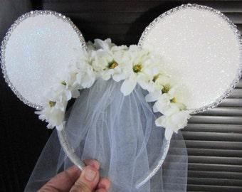 Bachelorette Wedding Mouse Ears