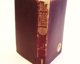 1921 Black Beauty Autobiography of a Horse Anna Sewell - Ill. Lucy Kemp-Welch