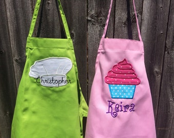 Personalized Kid Apron, kid apron, personalized apron, child apron, personalized, apron, Kids apron, personalized gift, children's